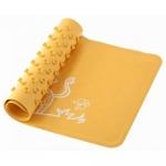 Антискользящий резиновый коврик для ванны Roxy Kids Желтый Жираф