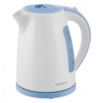 Электрический чайник Scarlett SC-EK18P60 бело-голубой