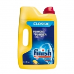 """Порошок """"Finish"""" для посудомоечной машины, с ароматом лимона, 2,5 кг"""