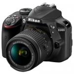 Зеркальный фотоаппарат Nikon D3400 Kit 18-55mm f/3.5-5.6G VR II