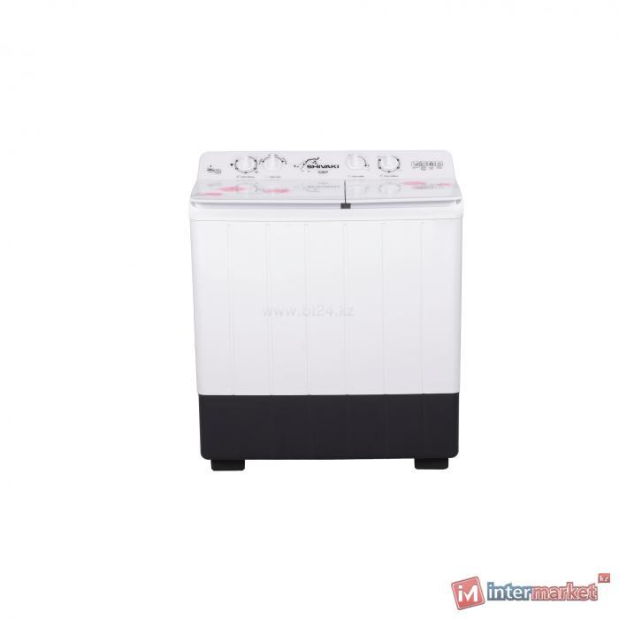 Стиральная машина SHIVAKI TG 80 P white-pink