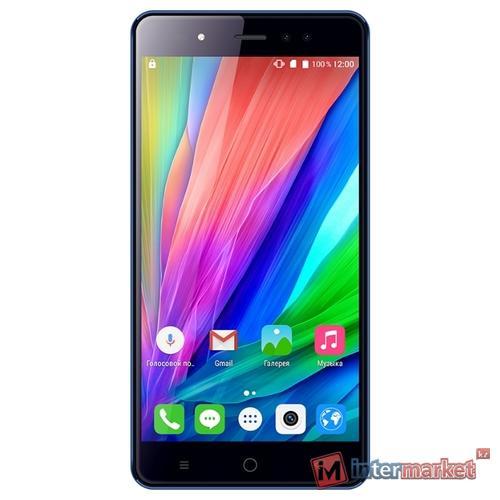 Смартфон teXet TM-5580, Blue
