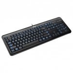 Клавиатура Trust Elight LED Illuminated Keyboard Black USB